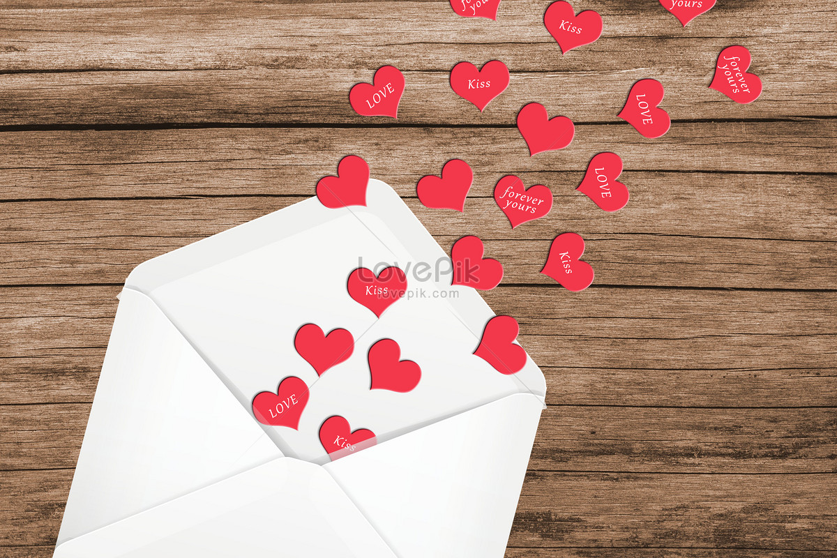 Valentines Day Envelopes Photo Image Picture Free Download