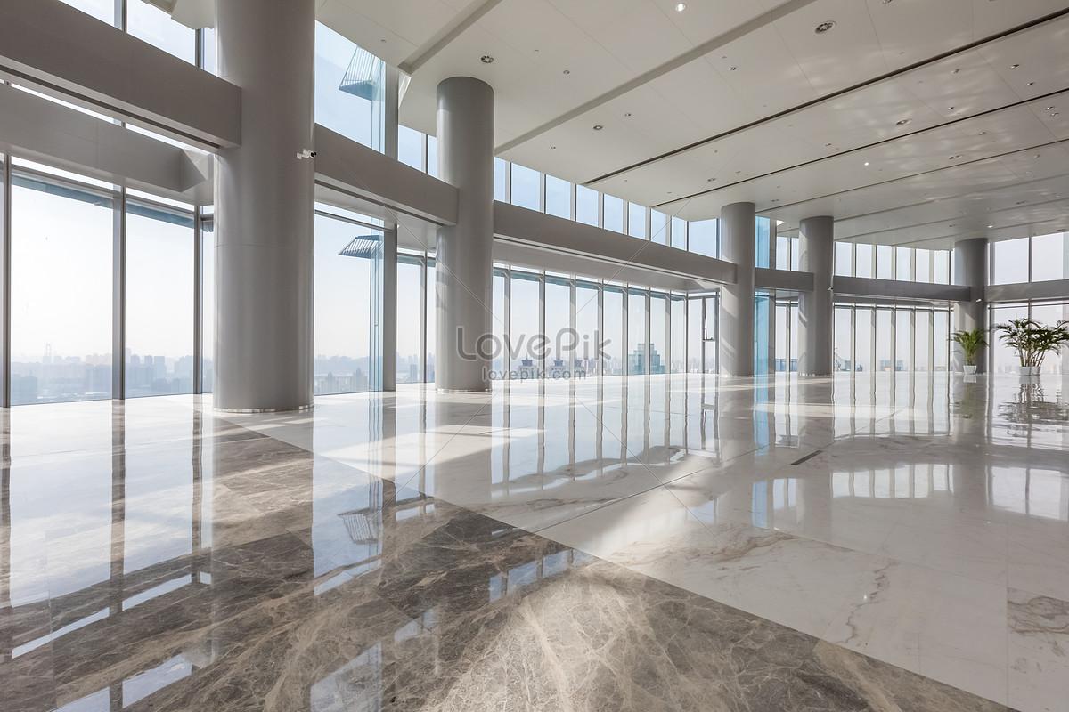 Photo de immeuble de bureaux daffaires couloir dair numéro de l