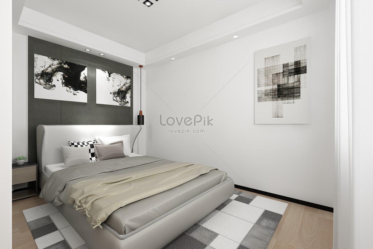 Camere Da Letto Nordiche : Camera da letto in stile nordico immagine gratis foto numero