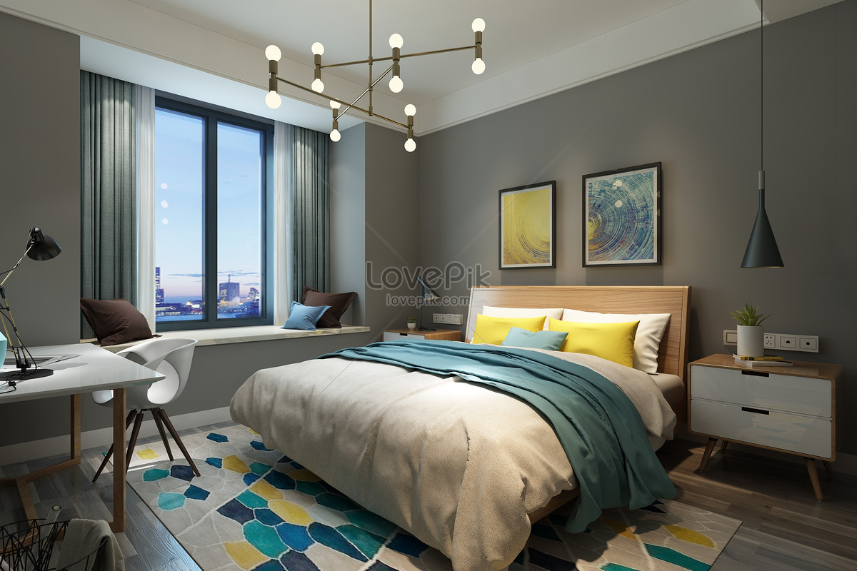 Bedroom Background Creative Image Picture Free Download