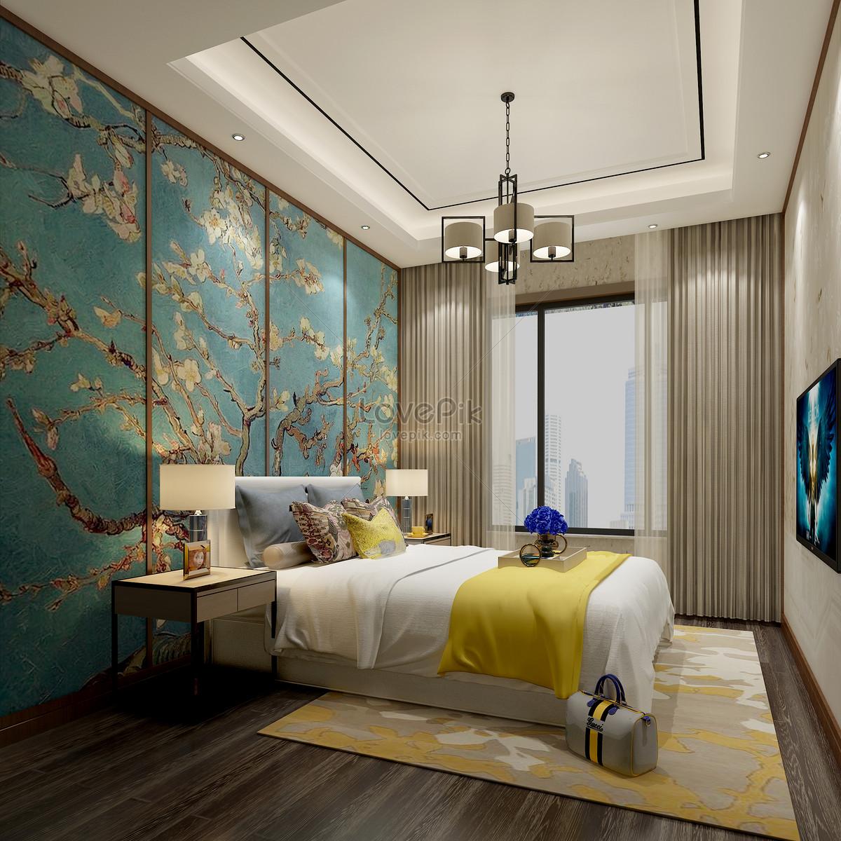 Photo de effet simple de décoration de chambre_Numéro de l ...