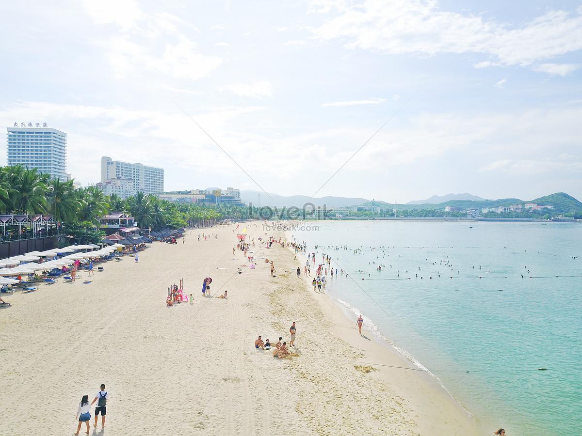 Hải Nam Sanya Great Đông Trung Quốc Biển Tắm Beach