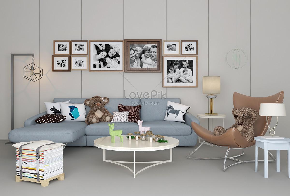 Fabulous Sofa Satu Kursi Kombinasi Rumah Modern Gambar Unduh Gratis Camellatalisay Diy Chair Ideas Camellatalisaycom