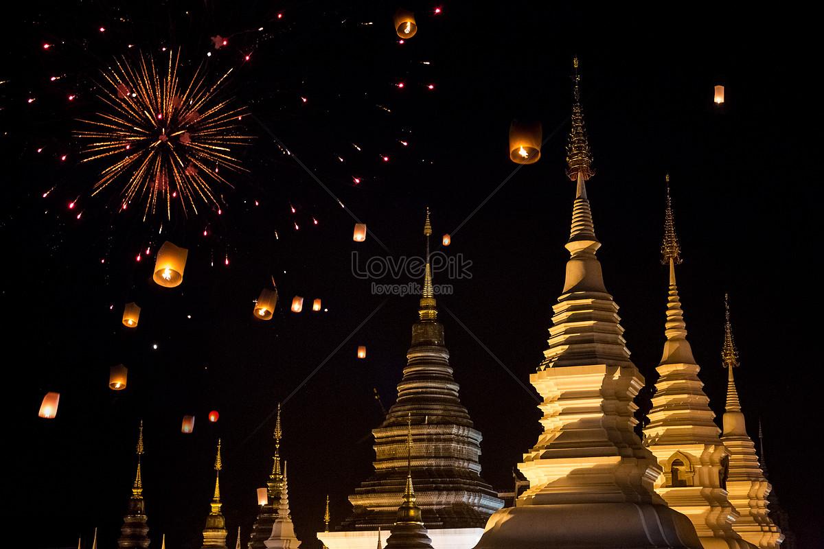 Thiên Niên Kỷ Lantern Festival Thái Lan