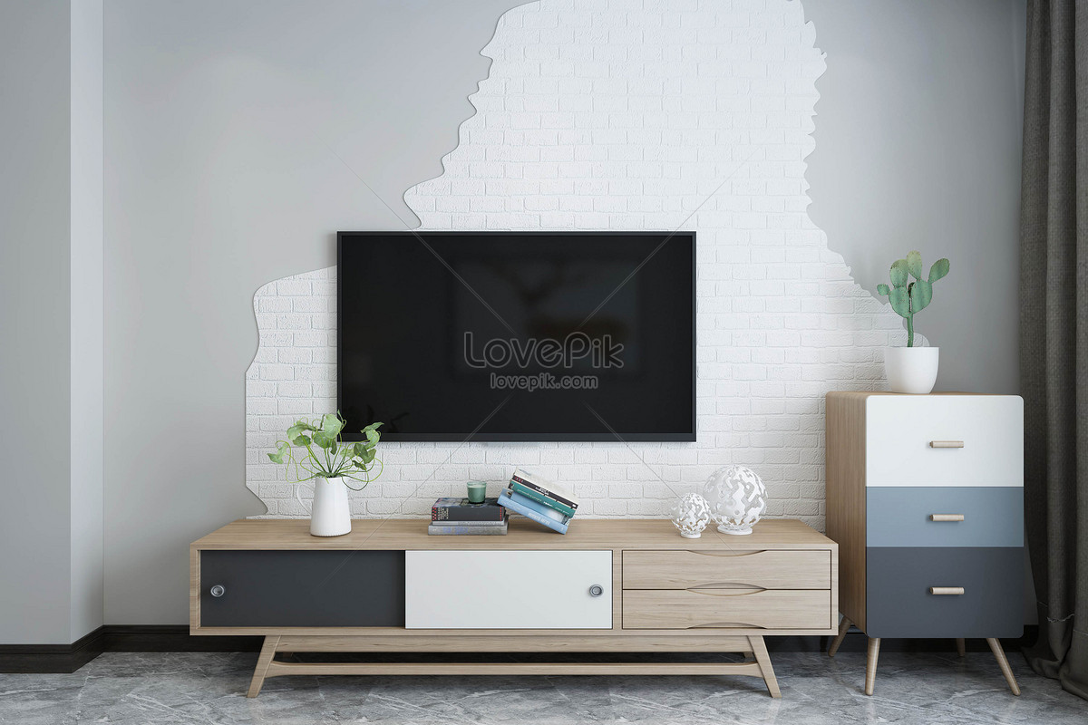 tv hintergrunddesign