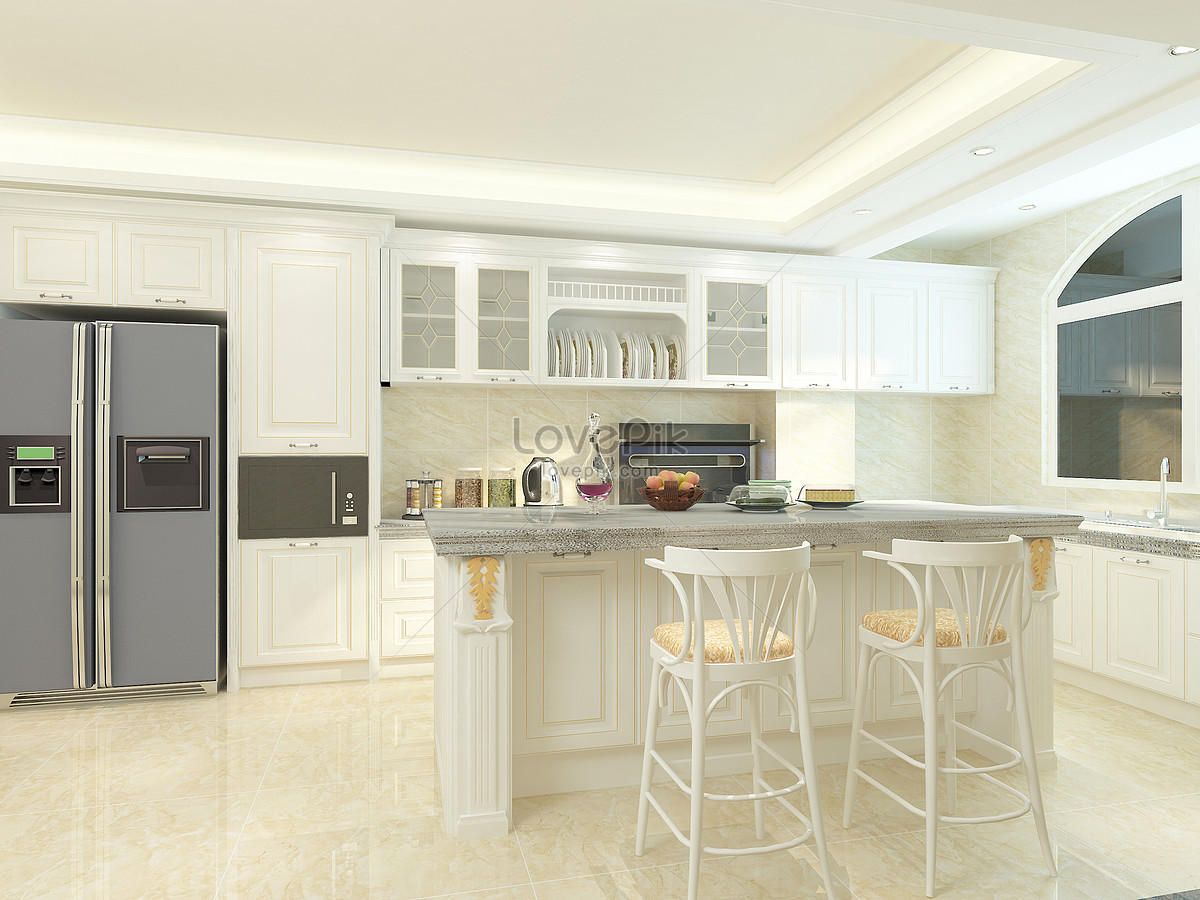 combinación de mesa de cocina moderna Imagen Descargar_PRF ...