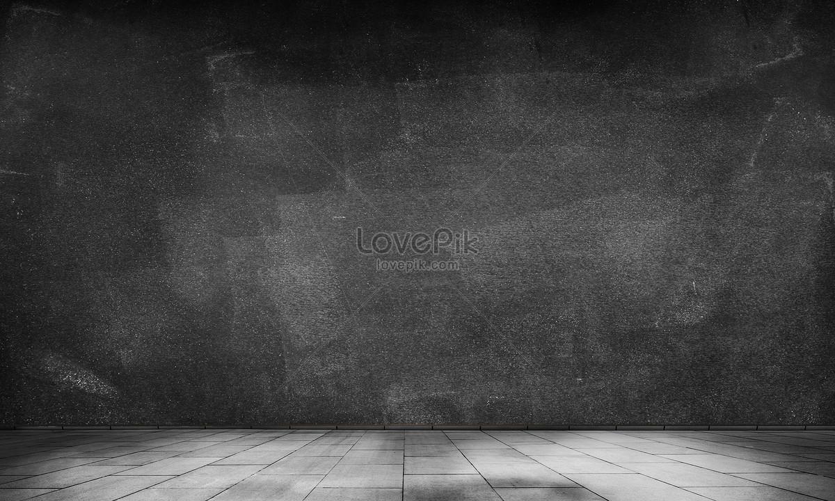 Pareti Di Lavagna : Camera moderna con la parete di lavagna u foto stock