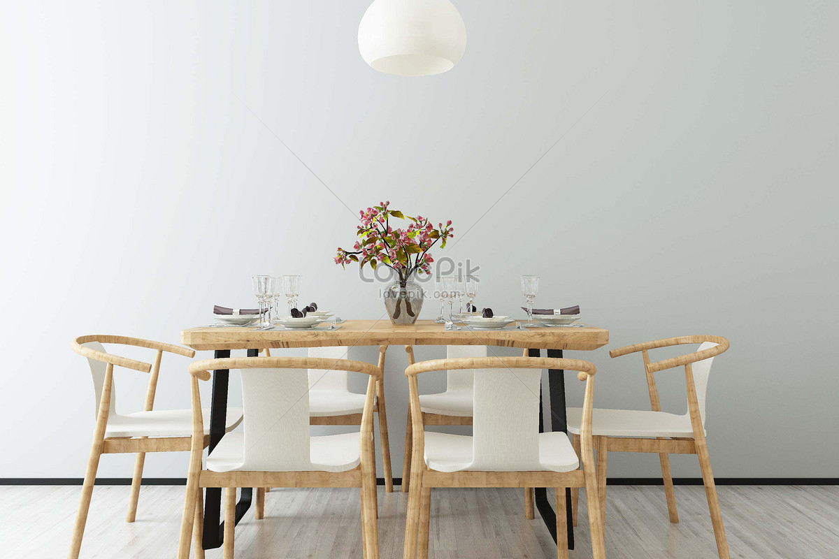 Simple Dining Room Background