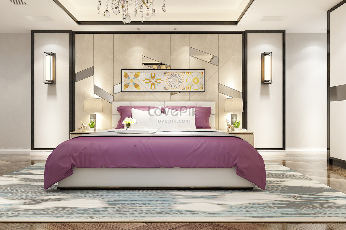 modern bedroom background - Bedroom Background