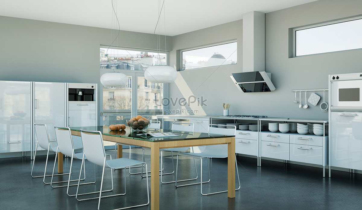 Nordic kitchens creative image_picture free download ...