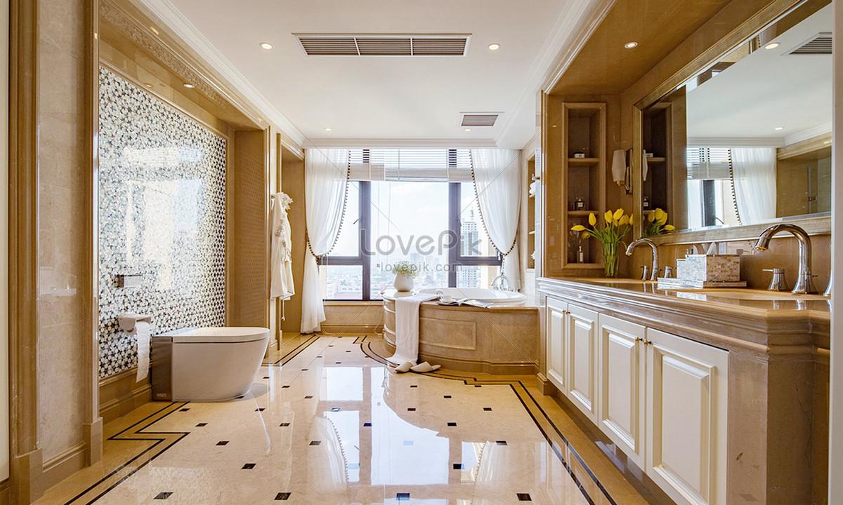 Bilder zum europäische retro badezimmer renderings_Download Kreativ ...