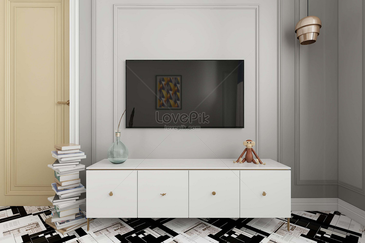 Television background creative image_picture free download ...