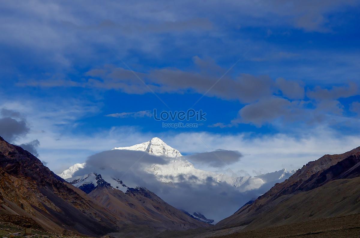 Gunung Everest Tibet Gambar Unduh Gratisimej 501051825format