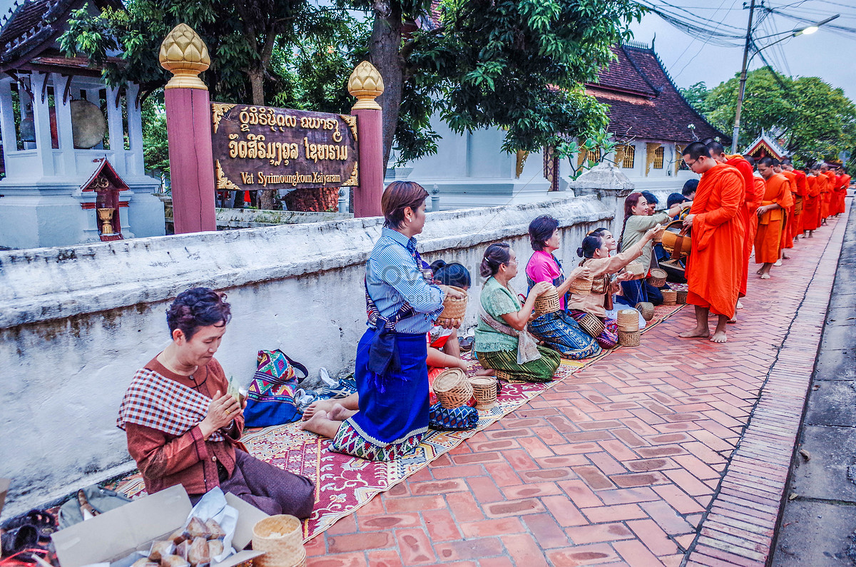Đám Tang Của Luang Prabang Lào