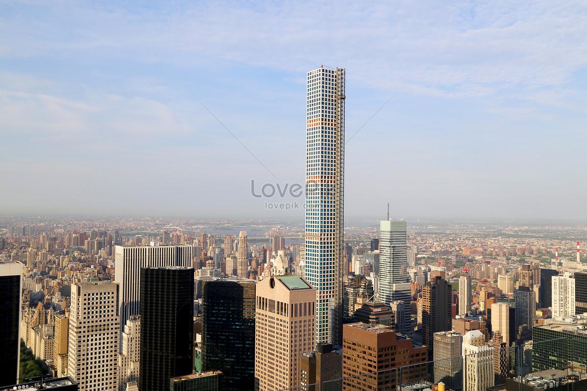 Gedung Pencakar Langit Amerika Gambar Unduh Gratis Foto